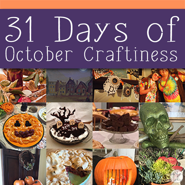 31 Days of October Craftiness - Featured