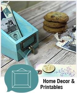 Shopping Category - Home Decor & Printables