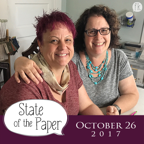State of the Paper - October 26, 2017 - Want FREE Stuff? Join our Focus Groups!