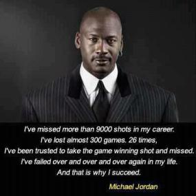 Success - Michael Jordan