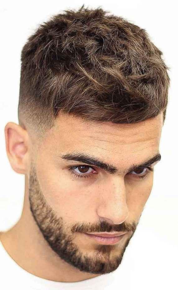 fransız ekin saç kesimi - bağlantılı sakal saç kesimi - Erkek Saç Modelleri 2019
