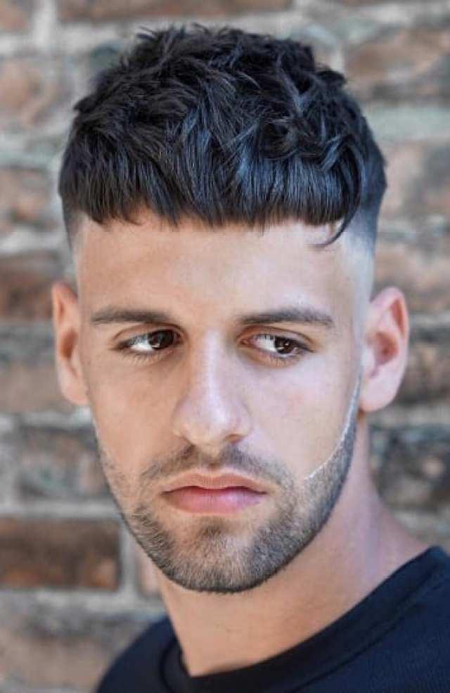 dokulu kırpma - Erkek Saç Modelleri 2019