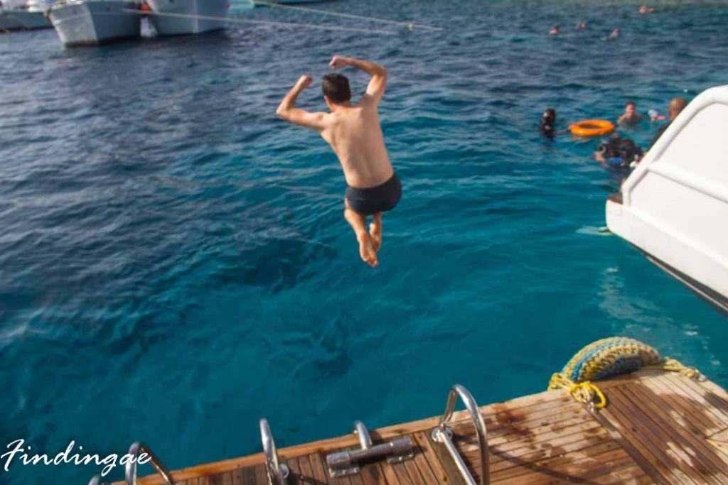 Swimming in Lagos