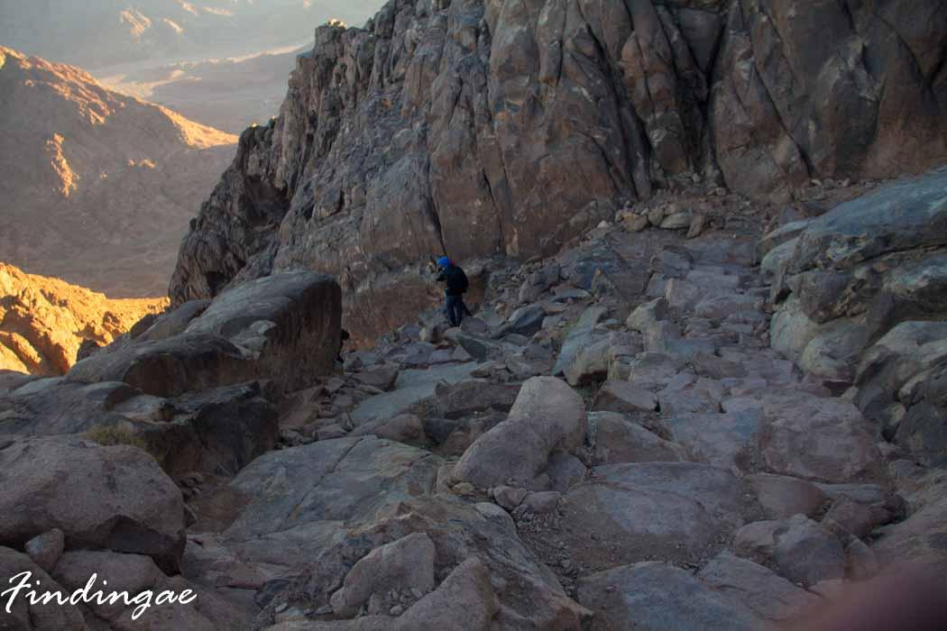 Sunrise Hike on Mount Sinai - FindingAE