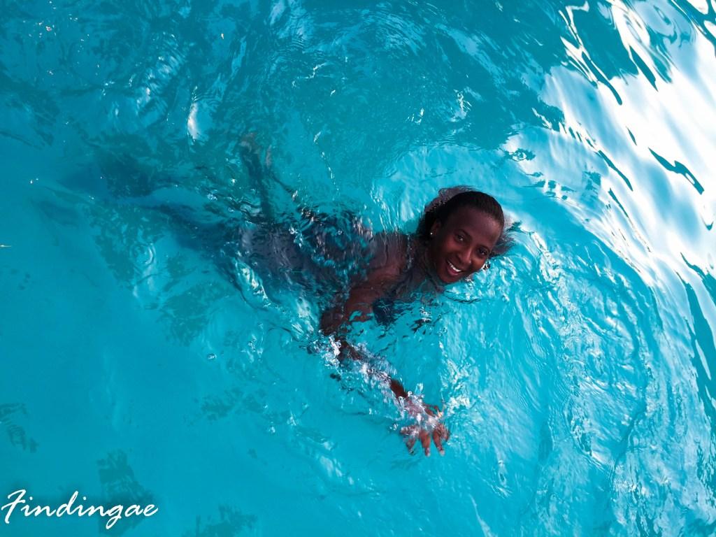 Swim in Lagos, Nigeria