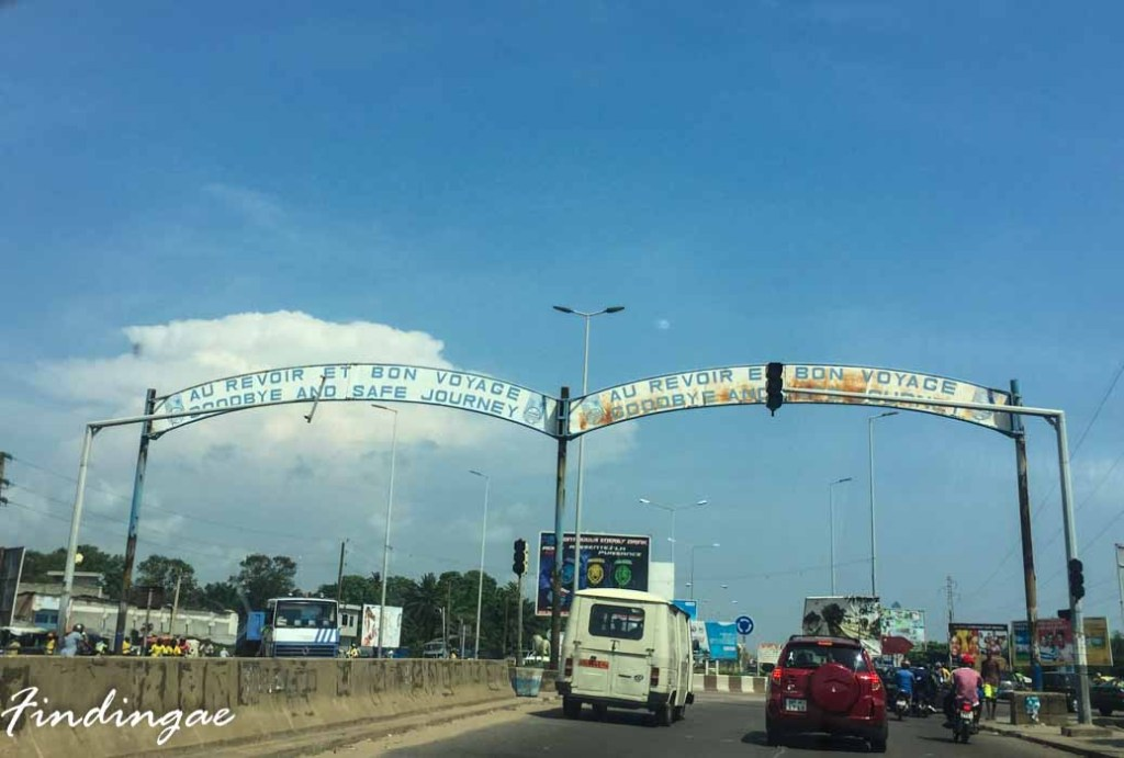 how to travel from lagos to cotonou