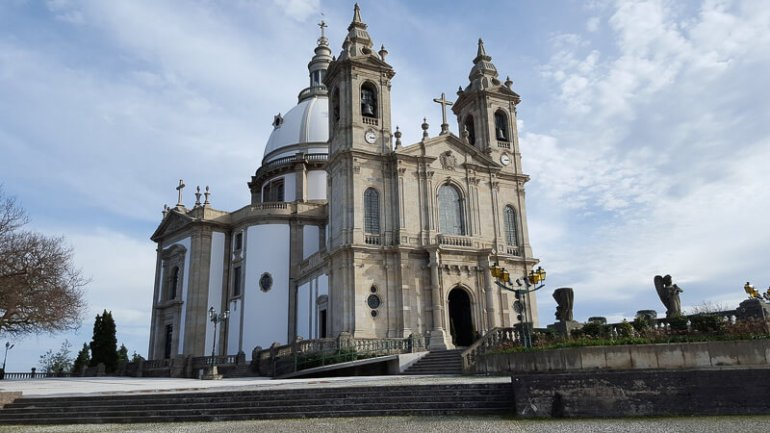 braga The Sanctuary of Our Lady of Sameiro