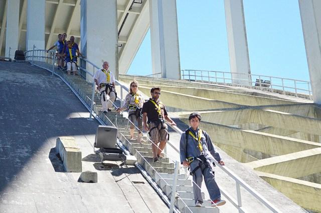 ponte da arrabida climb