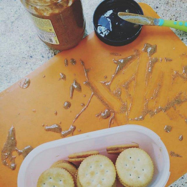 ritz almond butter cracker