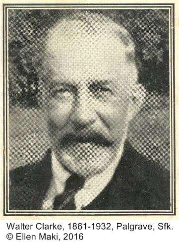 On This Day: 4 September 1932 - Death of Walter Clarke