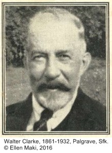 CLARKE Walter with caption