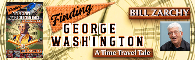 Promo graphic for 'Finding George Washington: A Time Travel Tale'
