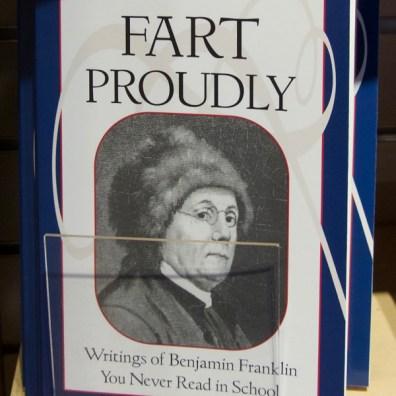 Book in gift shop, National Historical Park, Philadelphia