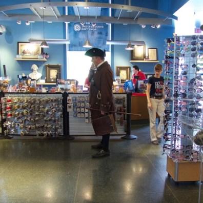 Gift shop, National Historical Park, Philadelphia