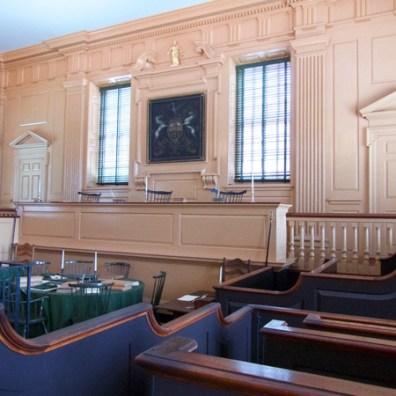 Supreme Court, Independence Hall, Philadelphia
