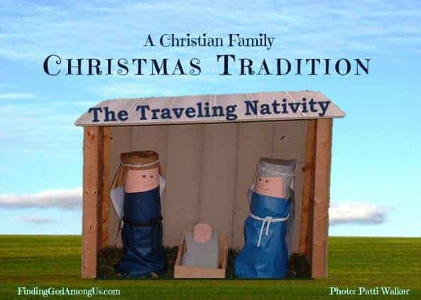 Traveling Nativity Christian Christmas Tradition