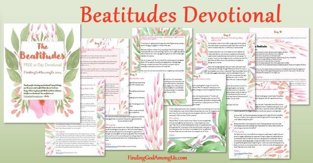 FREE! 10-day Understanding the Beatitudes Devotional covers lessons from the Beatitudes in the Bible one tiny bite at a time. Get your Beatitudes study guide now. The Beatitudes explained.