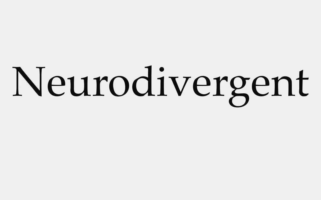 …but I'm Neurodivergent