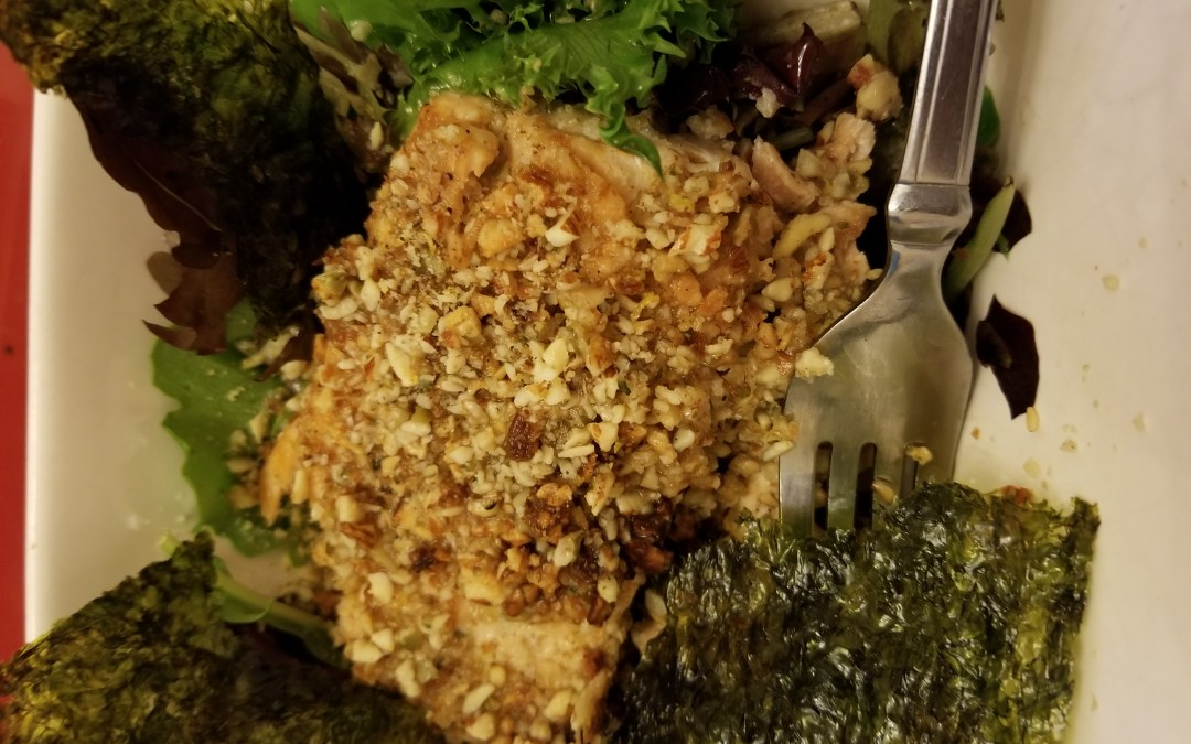 Brain Food: Almond-Crusted Salmon