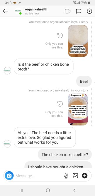 organika beef bone broth
