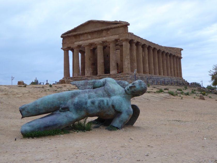 Concordia Tempel Agrigento Tal der Tempel