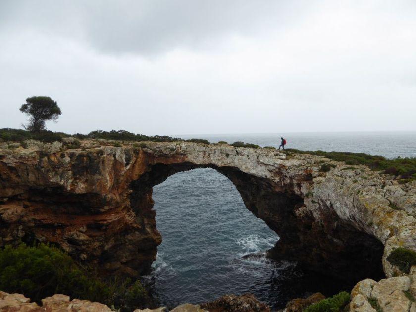 Cova des Pont Mallorca Felsenbrücke