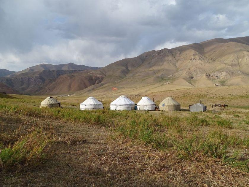 Jurten Camp Kirgistan nahe Son Kul