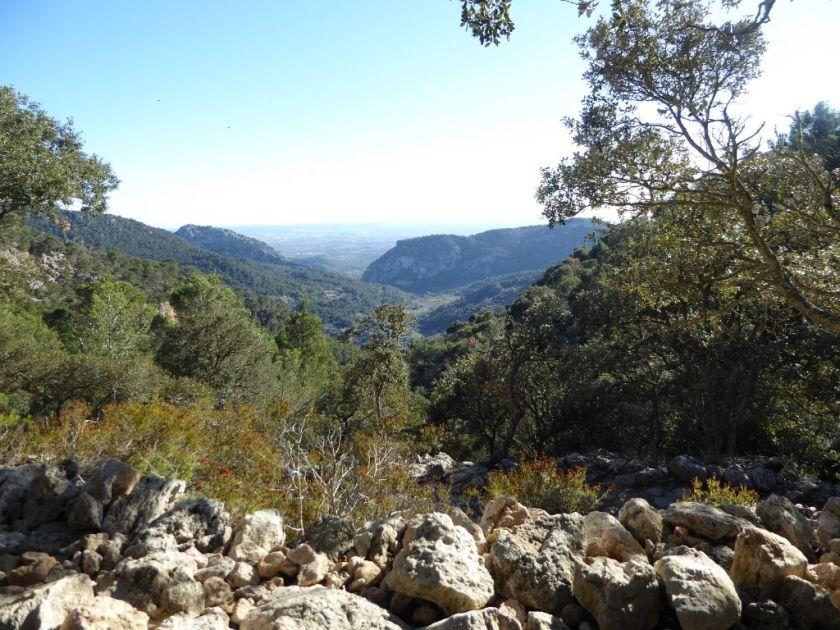 Mallorca Wanderung kleine Runde um Valldemossa Ausblick