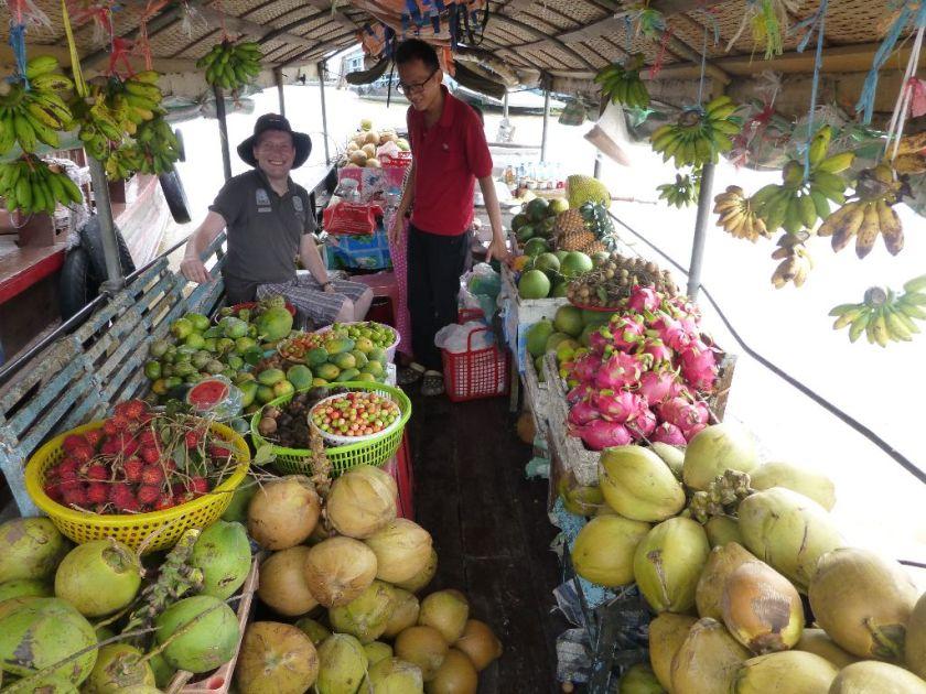 Schwimmende Märkte Vietnam