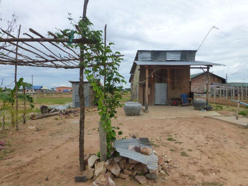 Kambodscha Hütte
