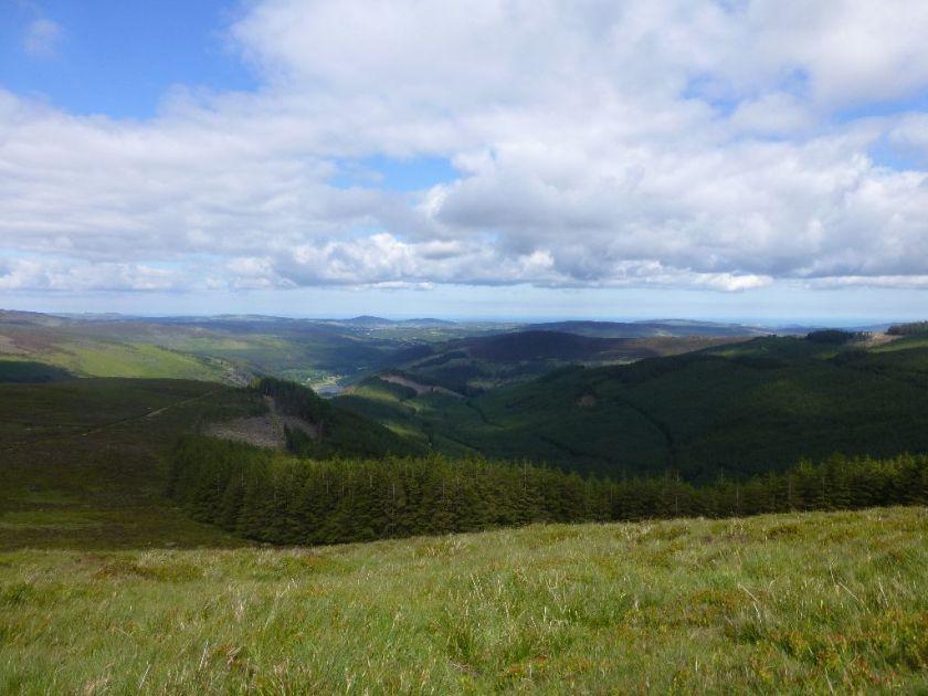 Wanderweg Glendalough Mullacor
