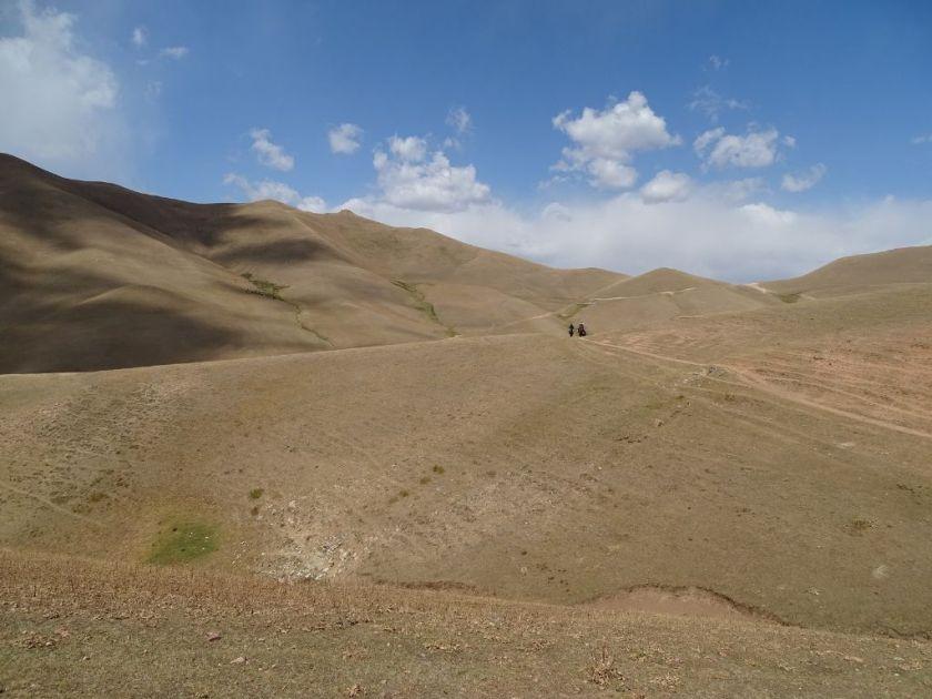 Reiten zum Son Kul See Kirgistan