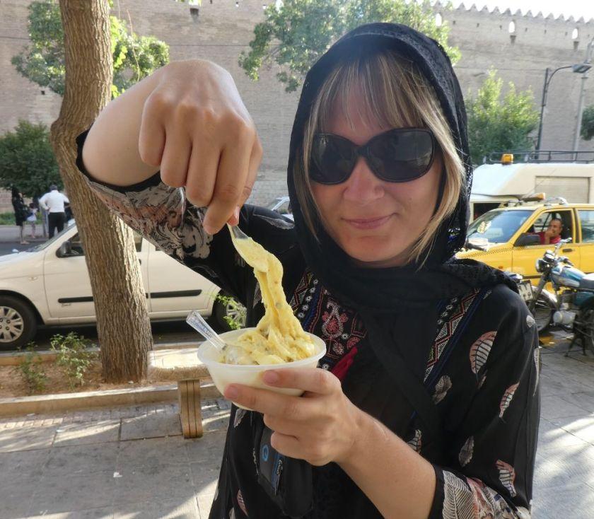 Safran Eis Iran