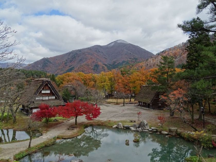 Herbst in Shirakawago, Japan