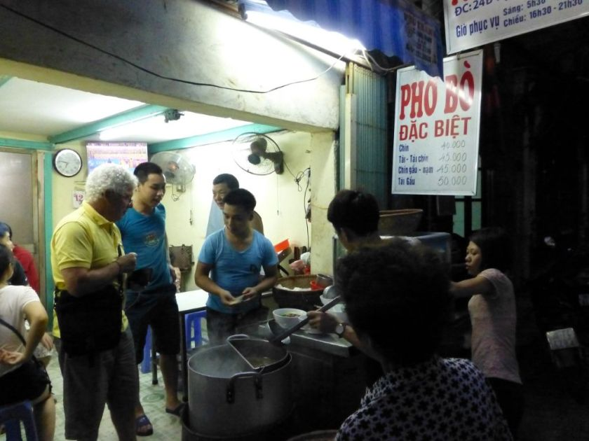 Streetfood Vietnam Pho Suppe