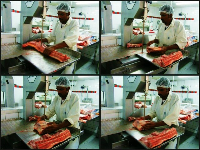 Larnie Meats: Cutting Meat