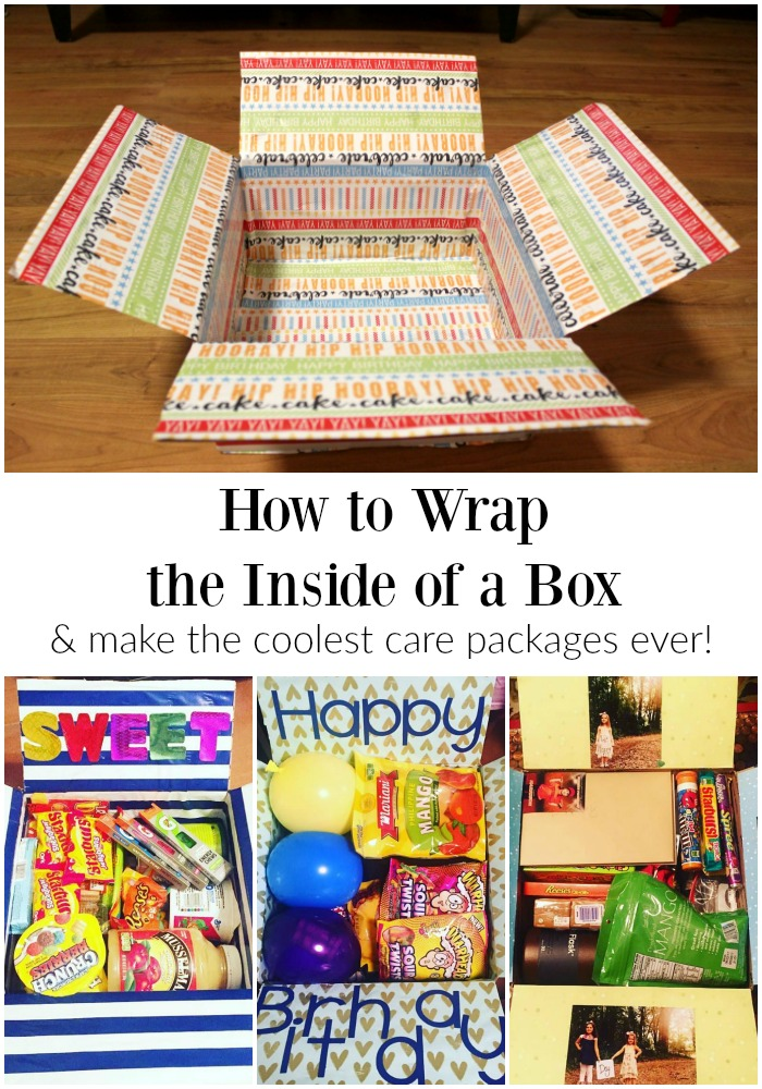 How to Wrap the Inside of the Box | Finding Mandee