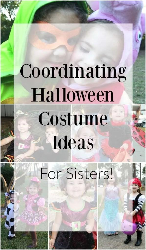 Sister Halloween Costume Ideas