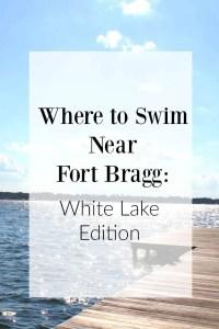 Where to Swim Near Fort Bragg NC