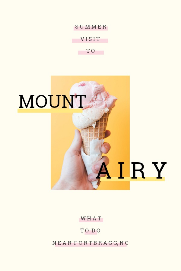 Things to do near Fort Bragg, NC: Visit Mount Airy/Mayberry