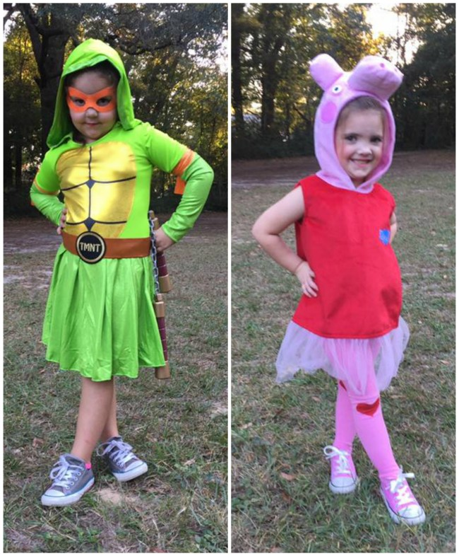 Halloween Costumes for Sisters