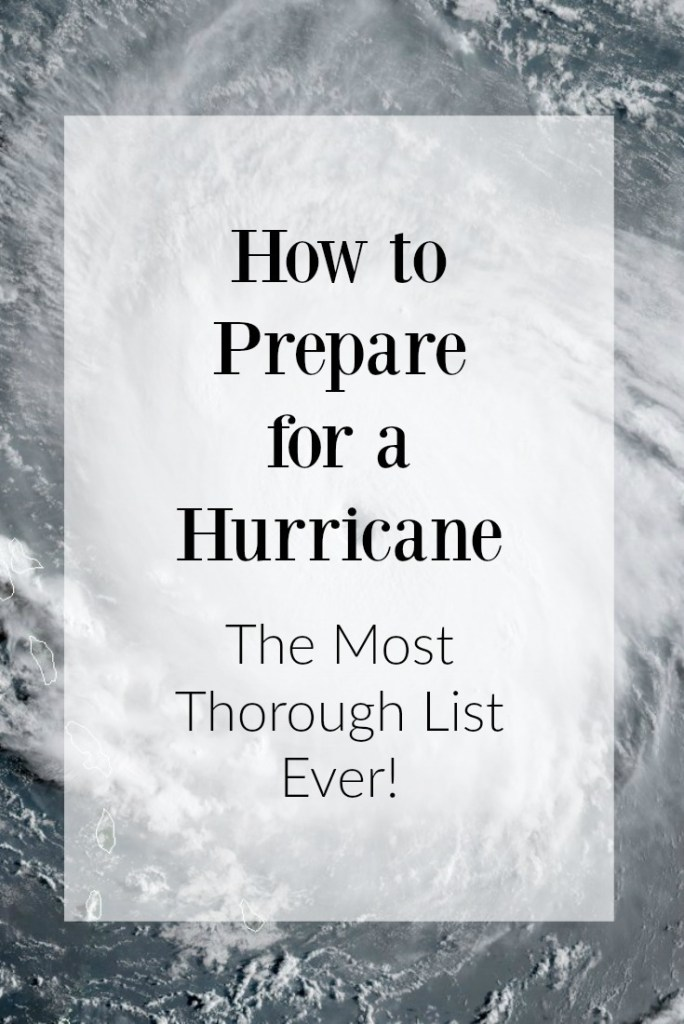 How to Prepare for a Hurricane: The Most Thorough List EVER! | Finding Mandee