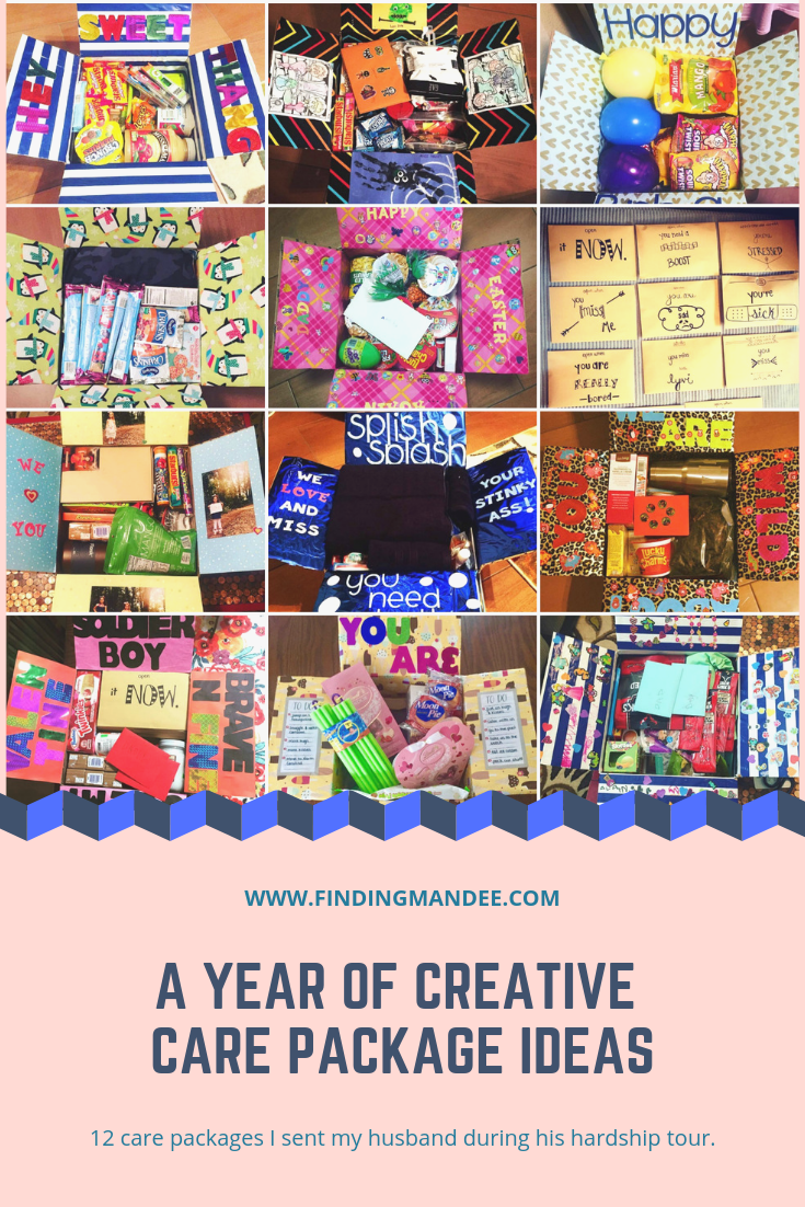 A year of creative care package ideas