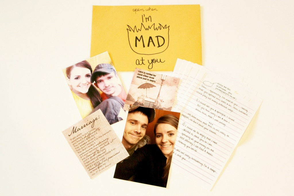 open when letters: open when I'm mad at you