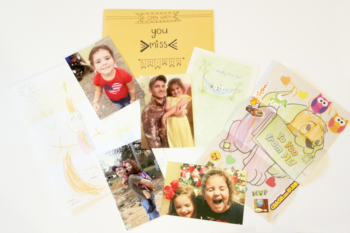 open when letters: open when you miss Lainey