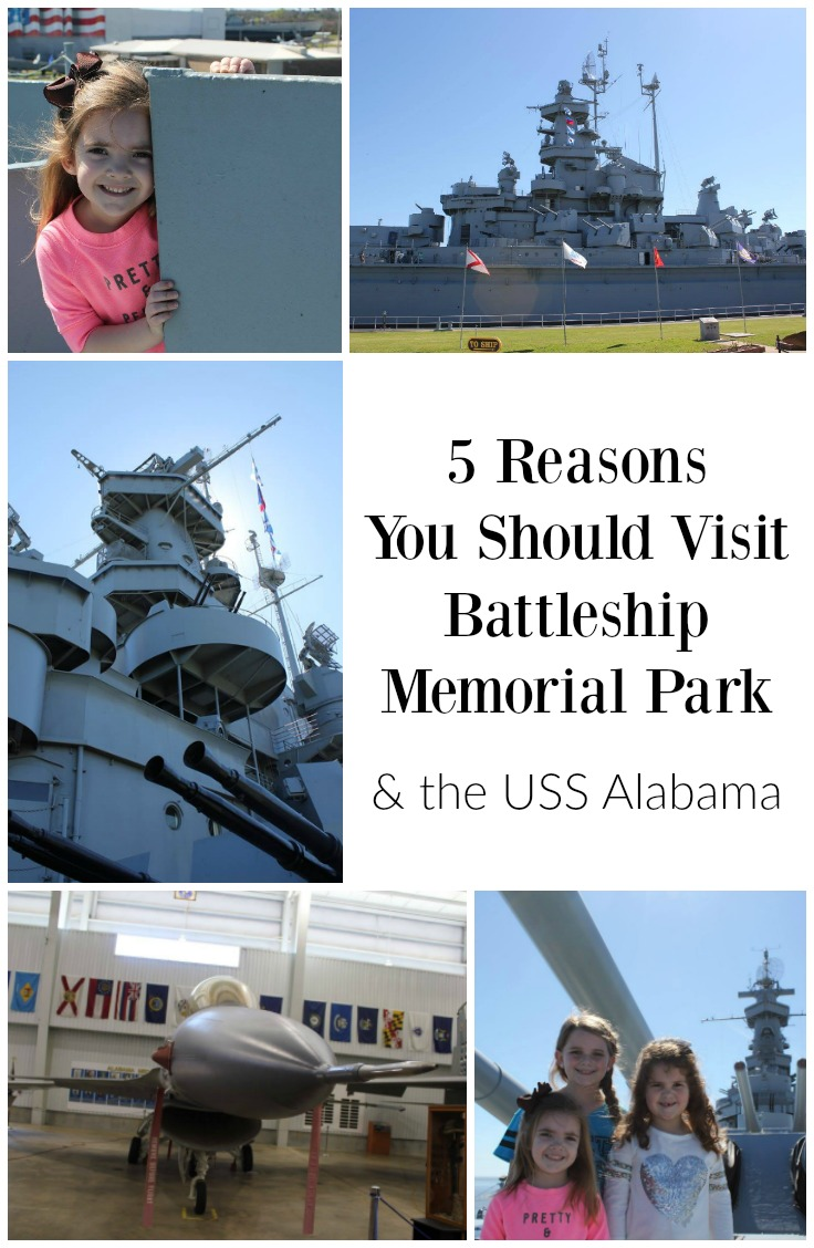 reasons to go to Battleship Memorial Park and the USS Alabama