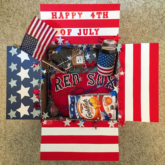 4th of July care package ideas
