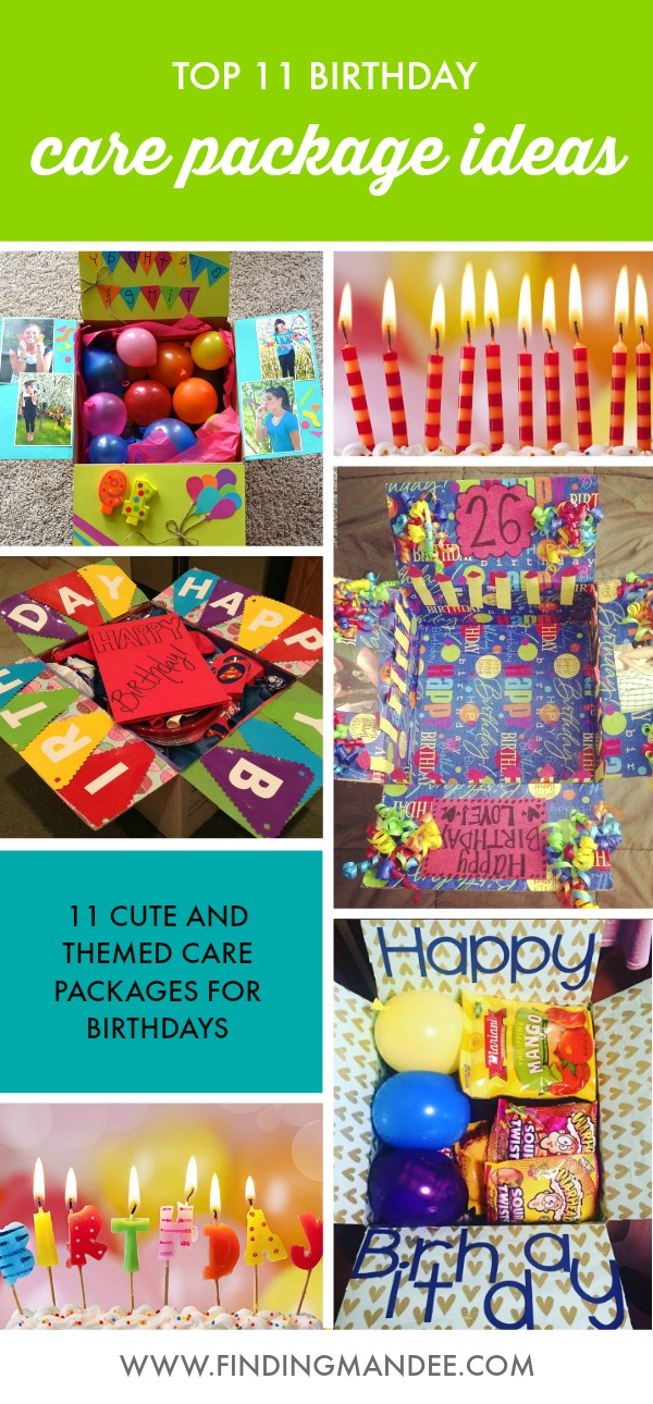 11 Birthday Care Package Ideas