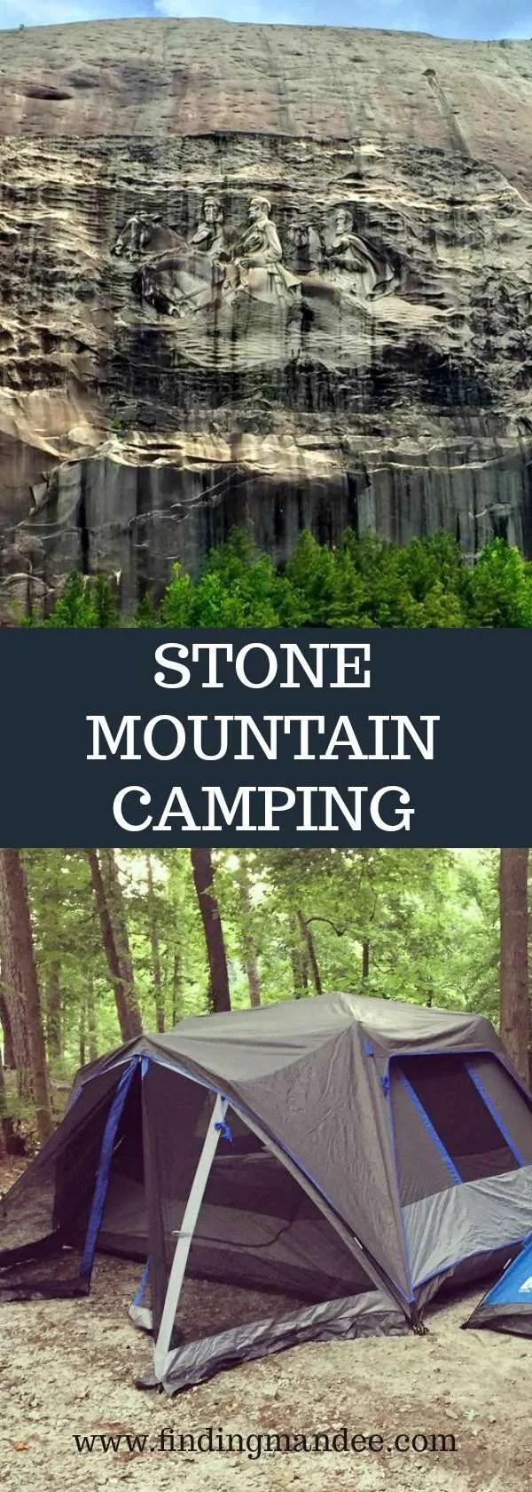 Camping at Stone Mountain, GA