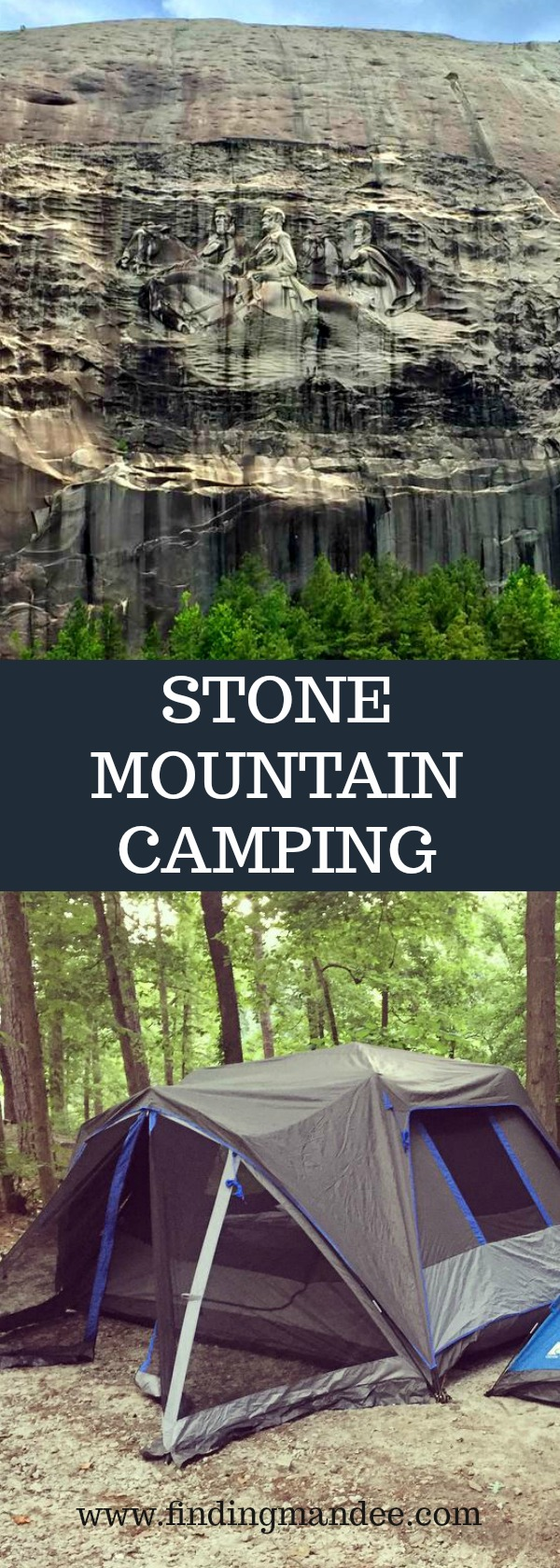 Camping at Stone Mountain, GA